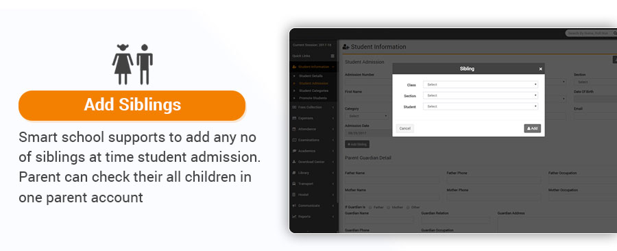School Management System Features