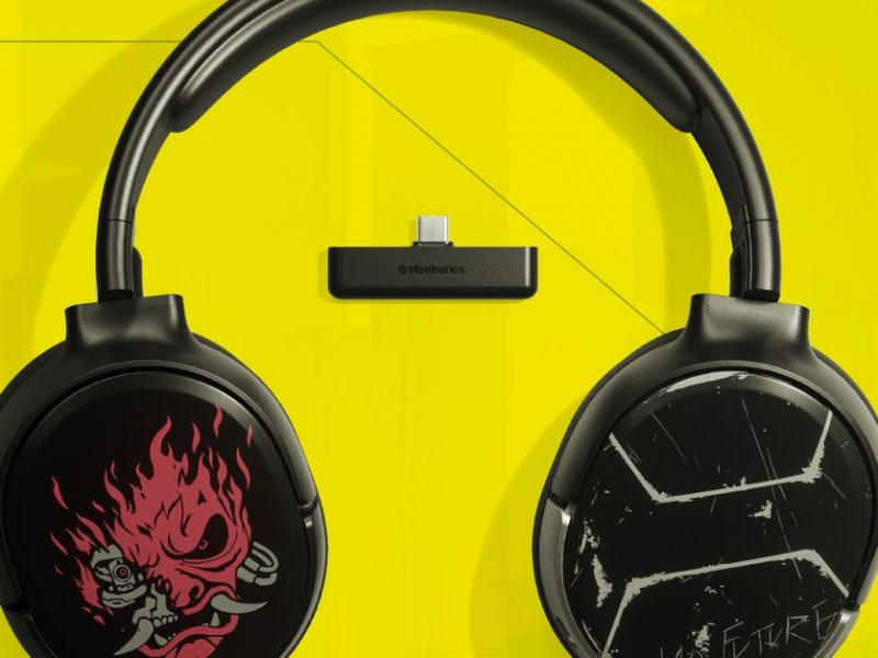 SteelSeries' new Arctis 1 Wireless for Xbox gets a limited edition Cyberpunk 2077 theme
